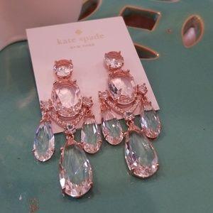 Kate Spade Crystal Gardens Chandelier Earrings